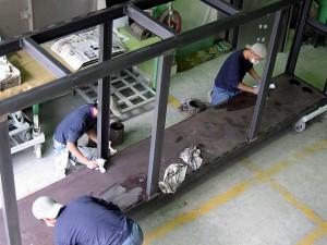 ウレタン塗装薬品メーカー用設備